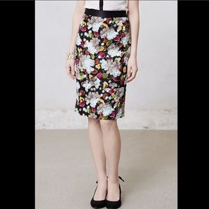 GIRLS FROM SAVOY EERO FLORAL PENCIL SKIRT SIZE 6